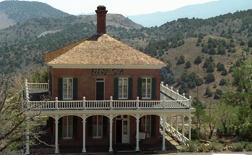 Mackay Mansion, Virginia City, NV