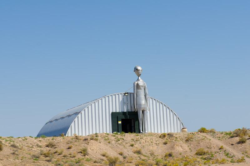 Rachel, Nevada outside of Area 51