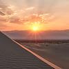 Mesquite Sand Dunes Sunset - Death Valley National Park