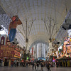 Fremont Street, in downtown Las Vegas