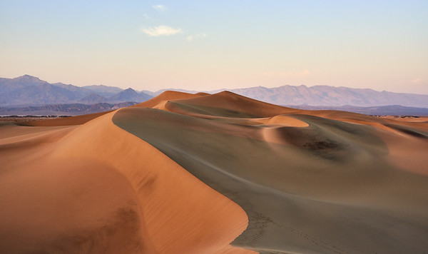 Mesquite Sand Dunes - Death Valley National Park