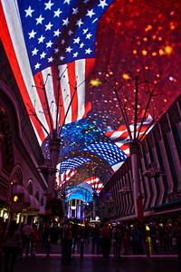 Nevada Travel Photography - Las Vegas  - Fremont Street Experience