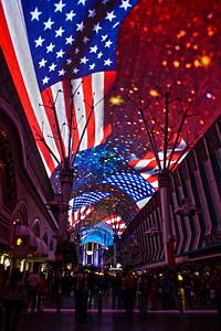 Nevada Travel Photography - Las Vegas  - Fremont Street Experience
