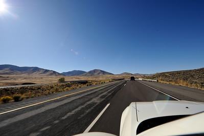 HWY 395 towards California
