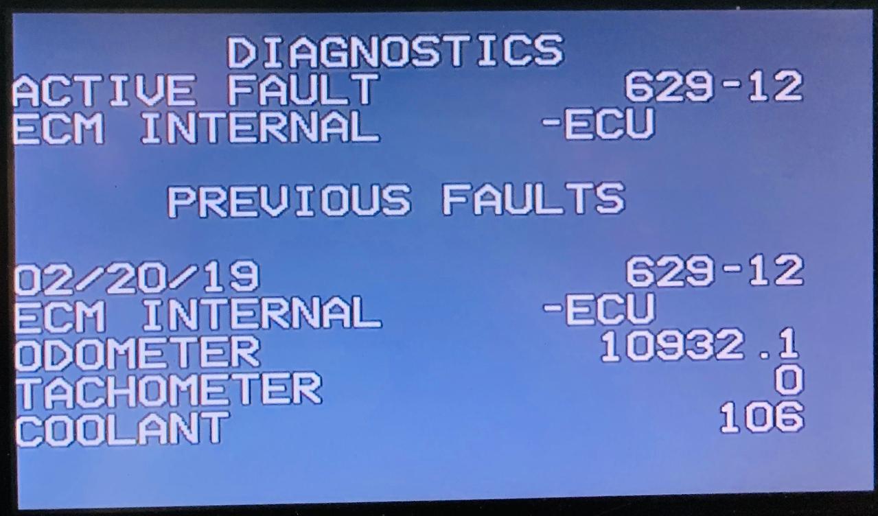 Cummins SPN 629 - FMI 12 (Fault Code 343) - iRV2 Forums