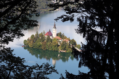 A different Look on Bled Lake, Slovenia