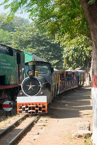 The National Rail Museum is a museum in Chanakyapuri, New Delhi which focuses on the rail heritage of India. Outdoor and indoor exhibit of the 163 years of rich Indian Railway's historic heritage. Rare steam, diesel and electric locos, royal saloons and lots of artifacts can be seen.