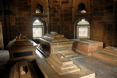 Tomb complex of Ali Isa Khan Niazi which is within the Humanyun's tomb complex. The tomb was built (completed) in 1570 on the orders of Hamida Banu Begum who was Humayun's wife. Construction was started in 1562. The tomb is an UNESCO's designated world heritage site. The site is a complex of buildings. This is the first garden-tomb which inspired many architectural innovations.