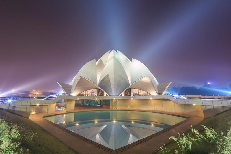 #5 Lotus Temple, New delhi