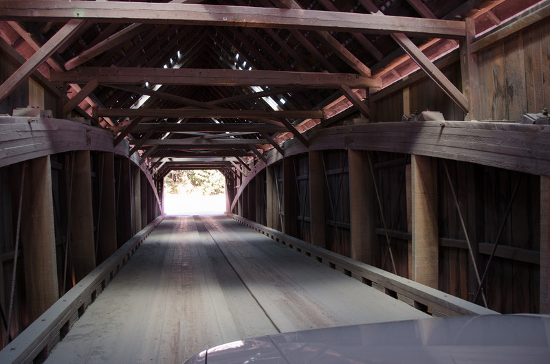 This was the first of the covered bridges we encountered.