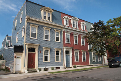 19th century homes. St. John.