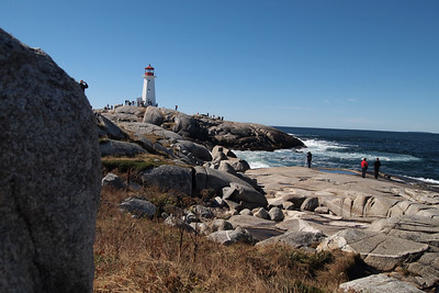 Lighthouse at Peggy's Cove. Near Halifax, Nova Scotia.