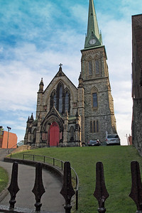 Trinity Anglican Church, which dates from 1877, when the original structure was destroyed in the Great Fire.