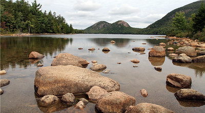Jordan Pond. Acadia National Park