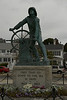 This is the fishermans memorial. Gloucester, Massachusetts