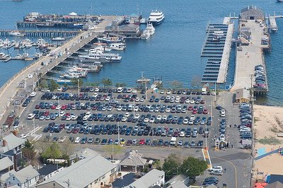 Provincetown Harbor from the Pilgrims Monument