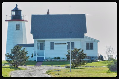 Wing's Neck Lighthouse in Pocasset, MA