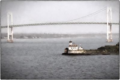 New England - Rose Island Lighthouse