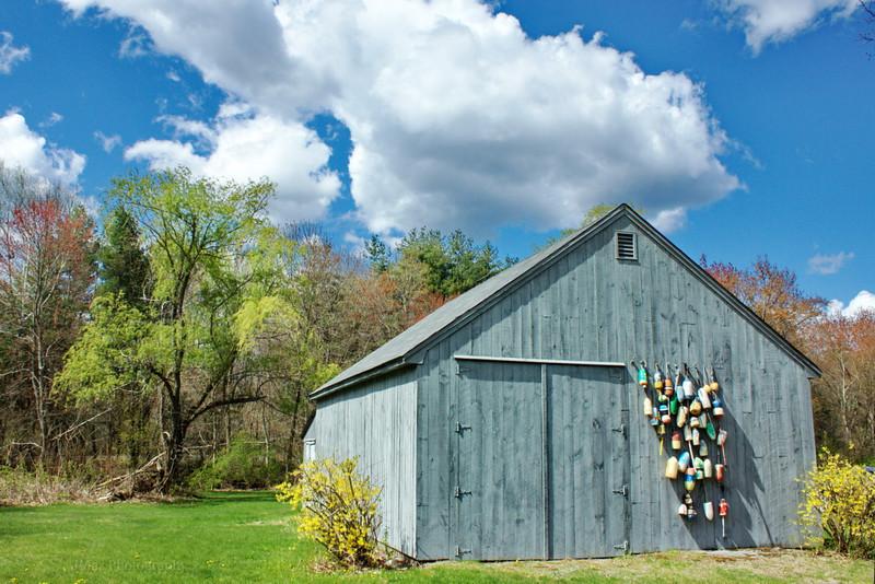 Barn with Buoys - 110/365
