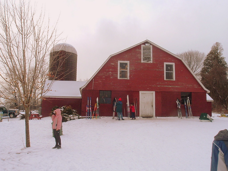 Ski touring center