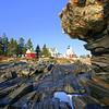Pemaquid Point Light & rocks