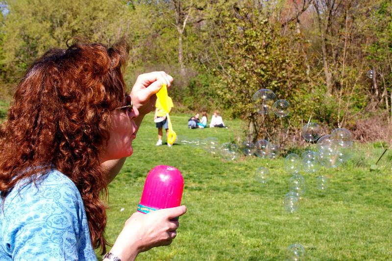 Blowing Bubbles at Bates
