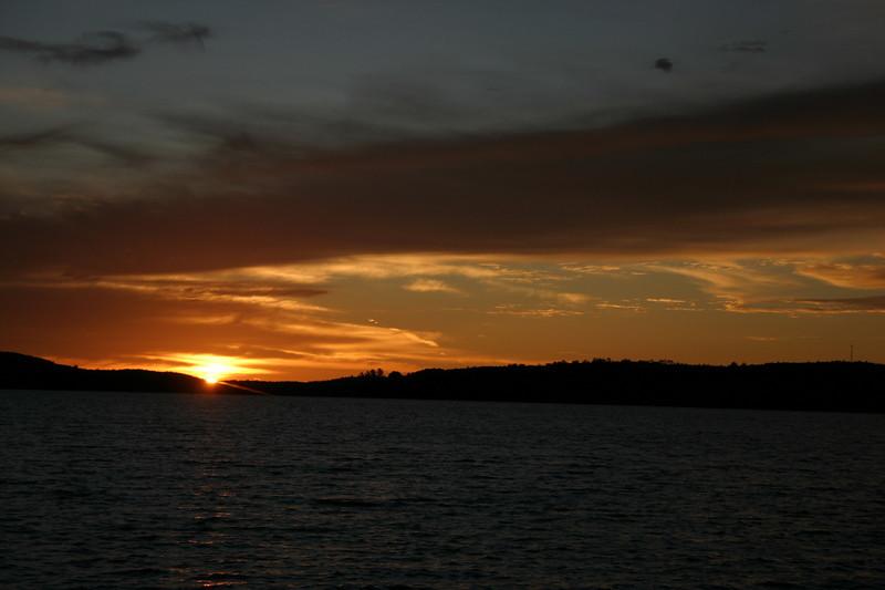 Sunrise over Sebec