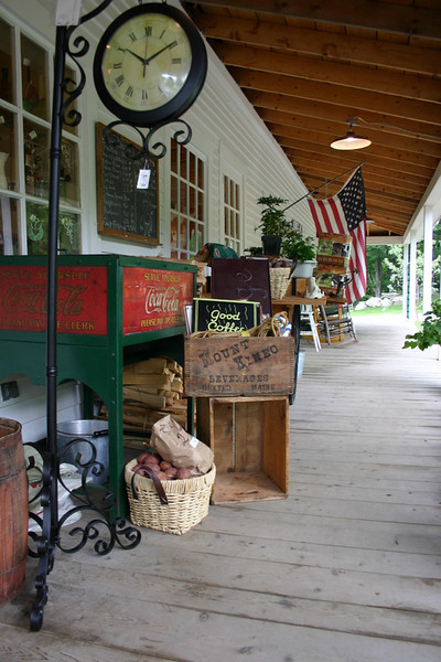 Front porch at town center