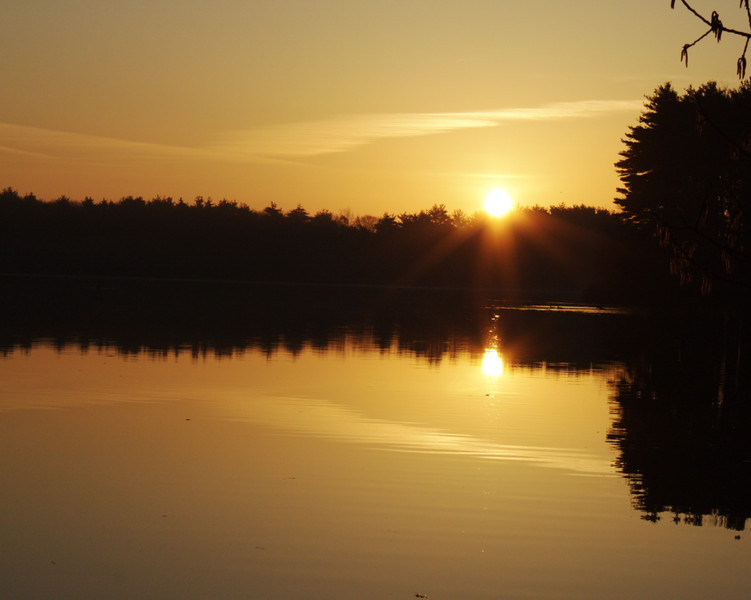 Sunrise over Foss
