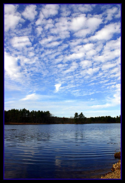 Big sky at the bogs