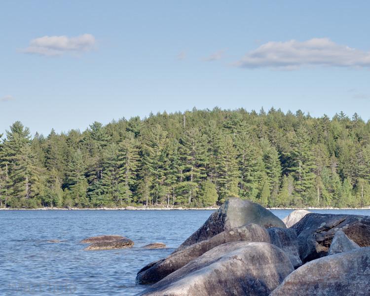 Sebec Lake Rocks