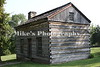Lincoln's boyhood home. This is reconstructed in the location of the original.