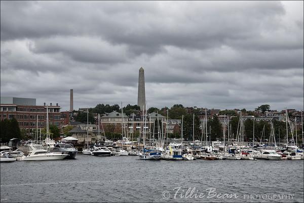 Bunker Hill Monument, Boston, USA