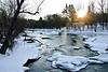 Winchester, New Hampshire, Sunrise<br /> February 2009