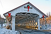 Ashuelot Covered Bridge, Winchester, New Hampshire<br /> February 2009
