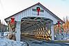 Ashuelot Covered Bridge, Winchester, New Hampshire<br /> February 2009