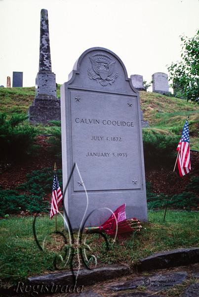 Calvin Coolidge grave