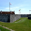 Fort Ticonderoga, built to guard the passage on the narrows between Lake Champlain and Lake George