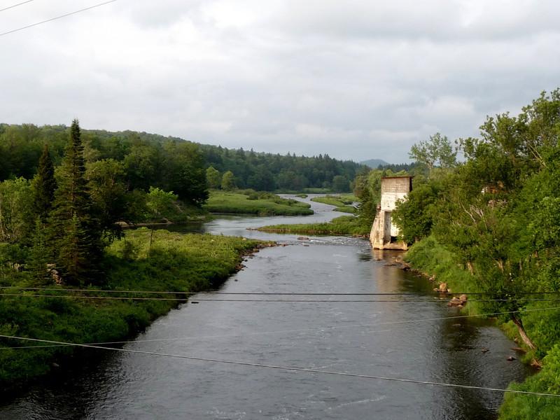Moose River in the Adirondacks.