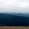 Ski slopes on the mountain next to Mt. Washington