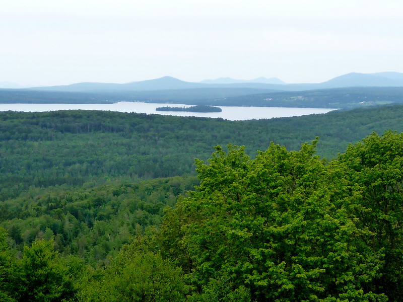 Rangely Lakes in Maine