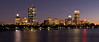 Boston skyline, early evening