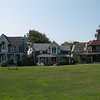 Victorian homes on Ocean Park, Oak Bluffs, Martha's Vineyard, Massachusetts  -- 18 August 2009