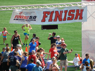 Finish at the 50 2014
