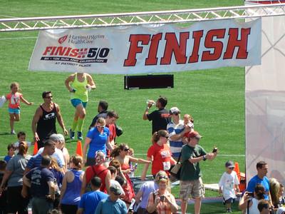 Finish at the 50 2014