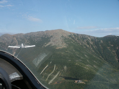 Soaring Over NH -  Up the Mountain