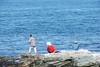 Fishing at Brenton Point
