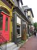 Street scene in one of Newport's historic neighborhoods