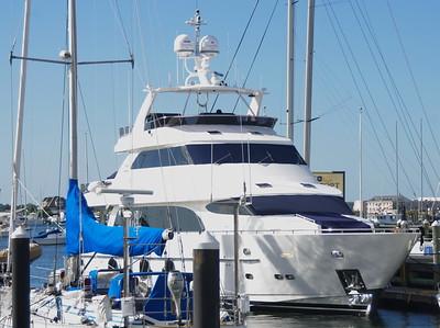 Newport -  Multi-million dollar yachts
