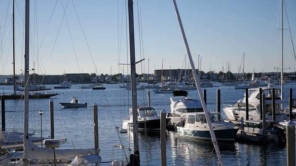 Newport -  Video of harbor